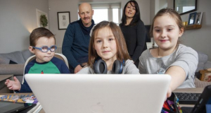 First homes connect under national broadband plan