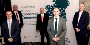 Five community centres get connected